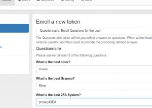 questionnaire-token