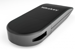 The open hardware pyhsical authentication device: Nitrokey (source: Nitrokey.com)